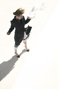 Zdjęcie mody w plenerze