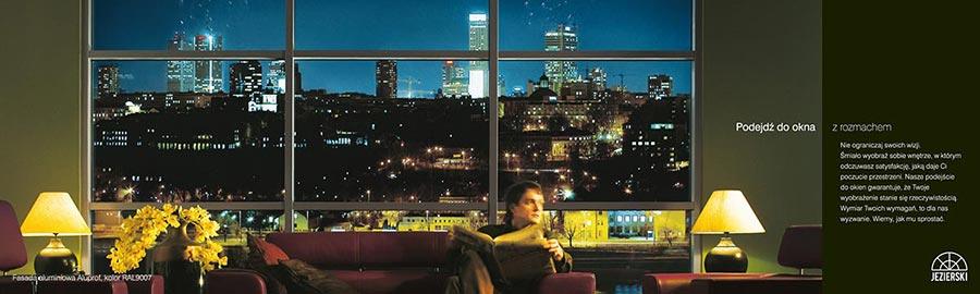 Zdjęcia reklamowe okien Jezierski