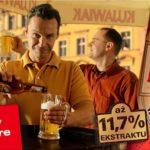 zdjęcie reklamowe piwa Kujawiak Bydgoszcz