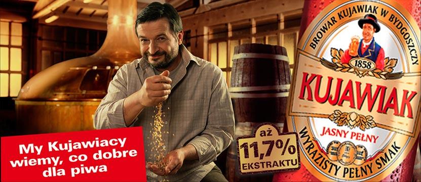 zdjęcie reklamowe piwa Kujawiak Ziarno