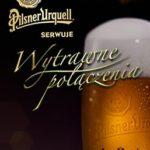 zdjęcie reklamowe piwa Pilsner Urquell