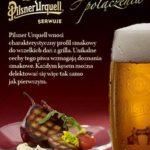 zdjęcie reklamowe piwa Pilsner Urquell_dania z grilla