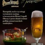 zdjęcie reklamowe piwa Pilsner Urquell_owoce morza