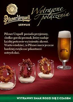 zdjęcie reklamowe piwa Pilsner Urquell_pikanteria